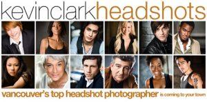 Kevin Clark Headshots logo