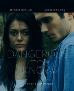 Movie poster for Dangerous To Know
